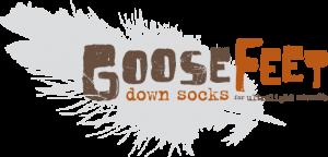 Goose Feet Down Socks