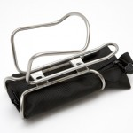King Cage Behold Tool Pouch with bottle cage attached