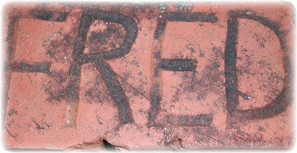 My grandfather made this brick