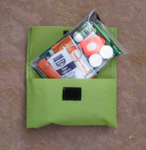 GetOutThere kit - personal care, emergency gear, first aid kit for cycling