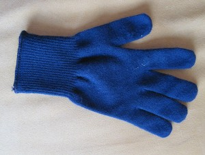 Start with Nashbar polypro glove - very functional and sewable.