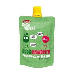 Can a GoGoSqueez pouch be used for carrying alcohol stove fuel?