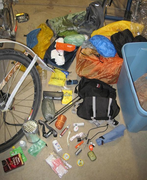 Having a go box makes bikepacking easy