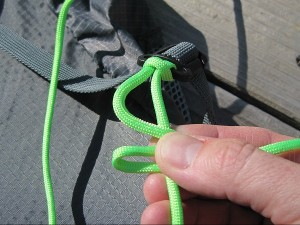 Starting a cross knot