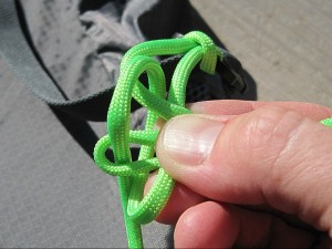Completing the cross knot