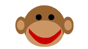 I got beat by a sock monkey
