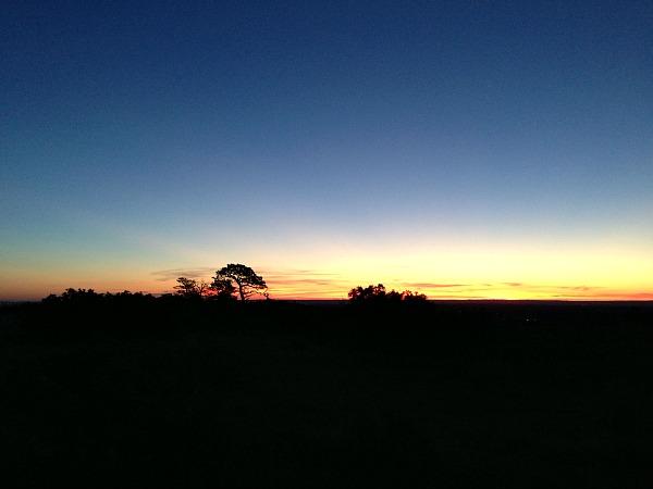 colorado sunrise september