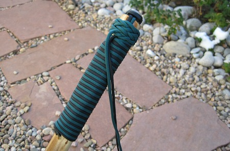hiking stick gaucho knot
