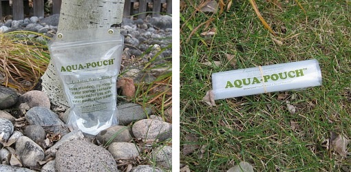 1 liter Aqua Pouch from Survival Resources