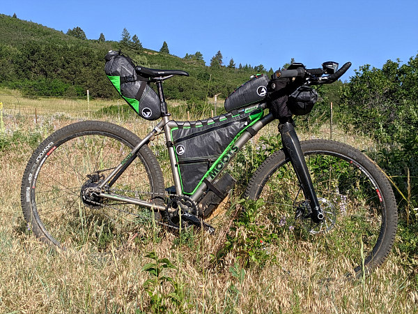 CTR gear, bikepacking setup, Colorado trail