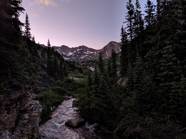 Colorado Trail sunset