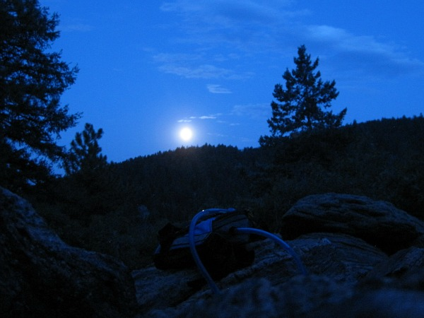Watch the moon rise and take incredible photos