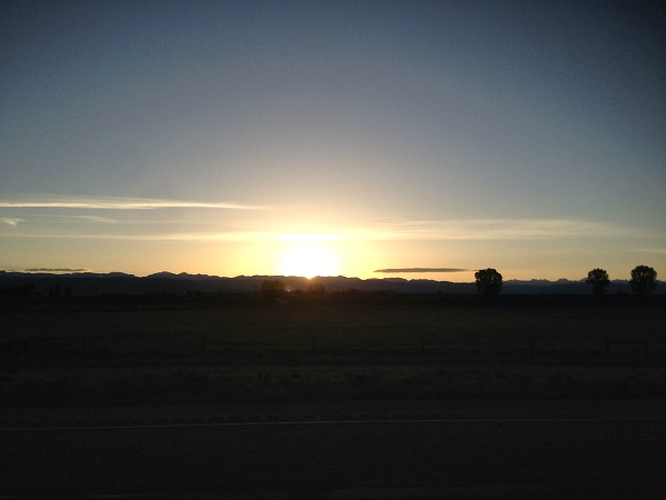 Sunrises over new gear