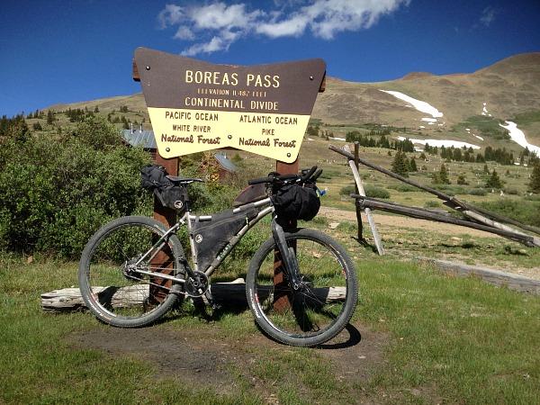 tour divide, boreas pass, breckenridge