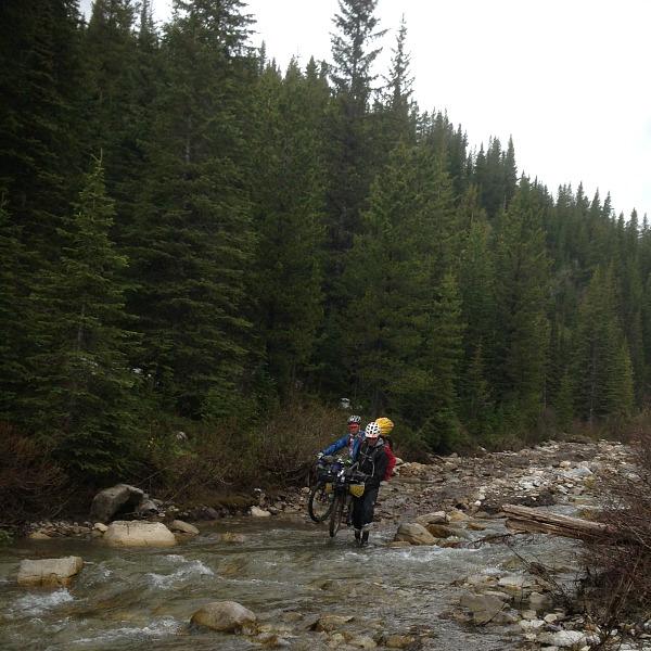 Flathead Pass downhill