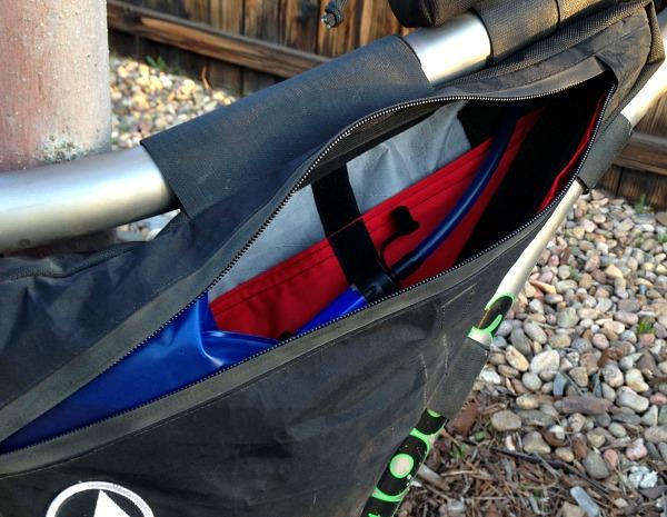 FramePak storage, pockets, frame bag space