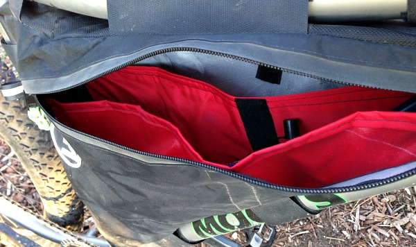 FramePak, bikepacking, pockets, storage, gear