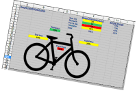 spreadsheet to organize bikepacking gear