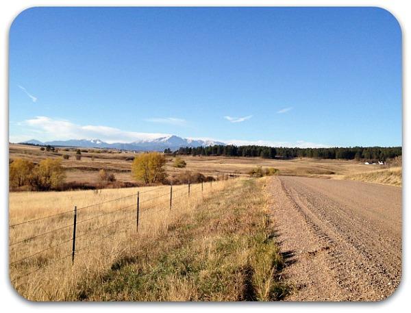quiet country gravel roads