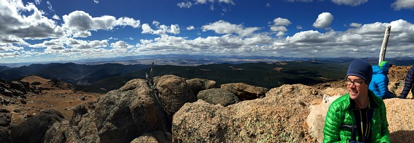bison peak summit, lost creek wilderness