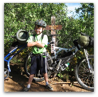 bikepacking with kids on the colorado trail