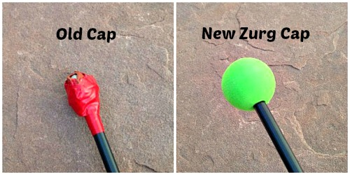 foam cap for carbon tarp pole