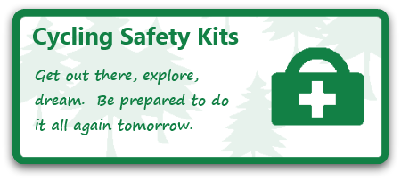 be prepared outdoors, safety kit, cycling safety