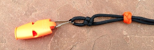 paracord lanyard fox whistle