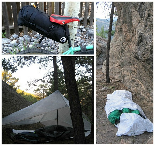 Setup the system as a tarp, a bivy, or both