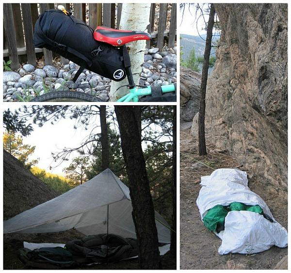 Setup the system as a tarp, a bivy, or both