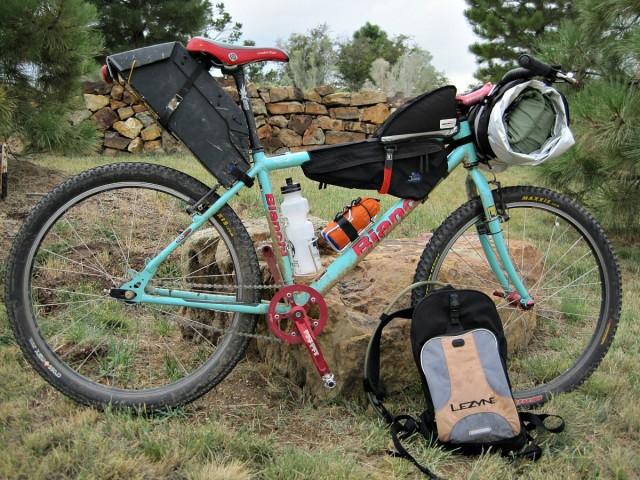 Bianchi CUSS bikepacking