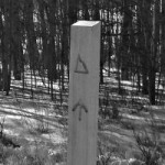 guidepost, colorado trail marker