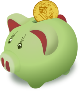 Don't actually use a piggy bank for your emergency fund